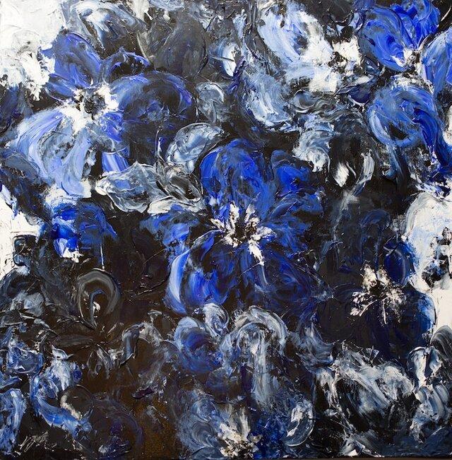 Flower / 青い花が印象的な花の作品。の画像1枚目