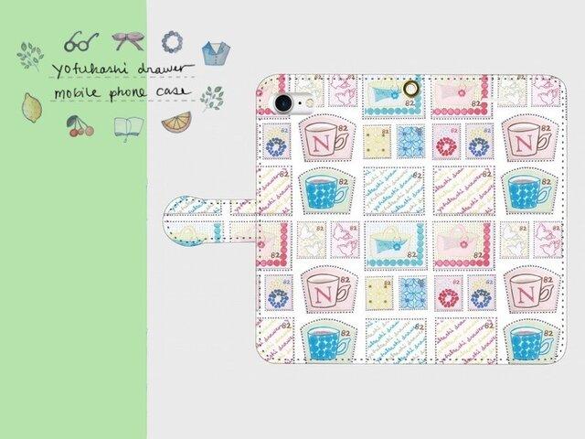【新作・再販】: : : 切手 : : : 手帳型スマートフォンケースの画像1枚目