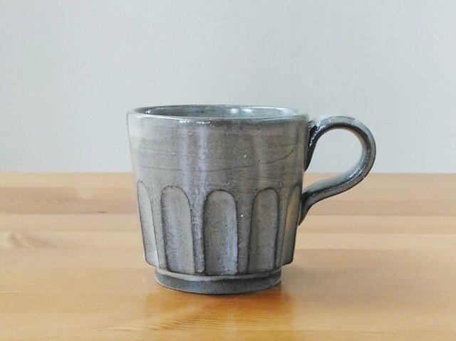 グレーのコーヒーカップの画像1枚目