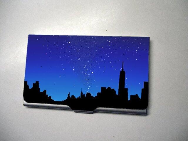 アートカードケース(名刺入れ) 夜空【送料無料】の画像1枚目