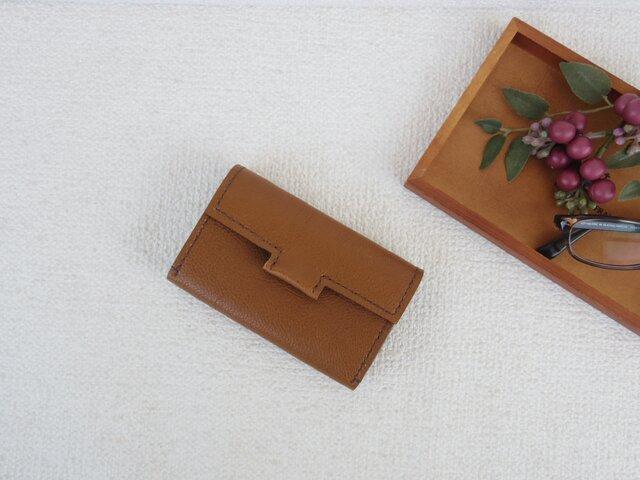 本革のカードケース①の画像1枚目