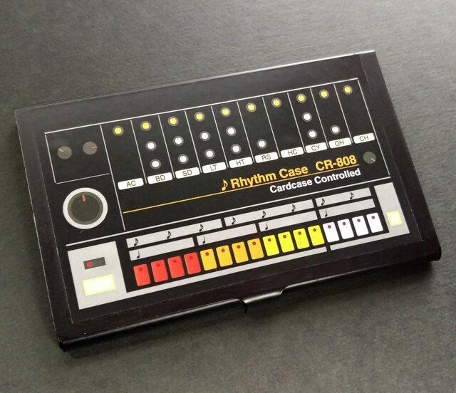 【カードケース】RhythmMachine CardCase CR-808の画像1枚目