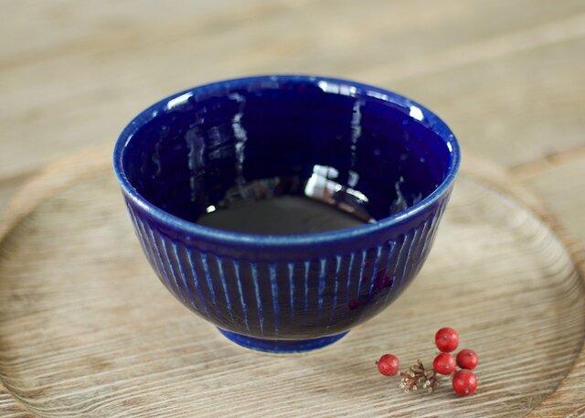 抹茶碗(瑠璃)の画像1枚目