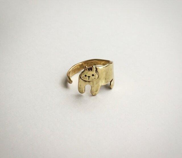 まとわりネコのリングの画像1枚目
