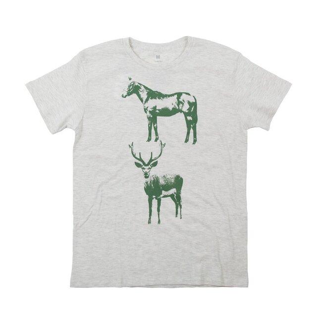 馬鹿おもしろデザインTシャツの画像1枚目