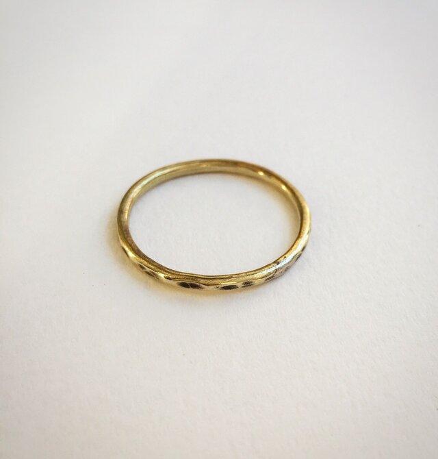 シンプル な リング(真鍮)の画像1枚目