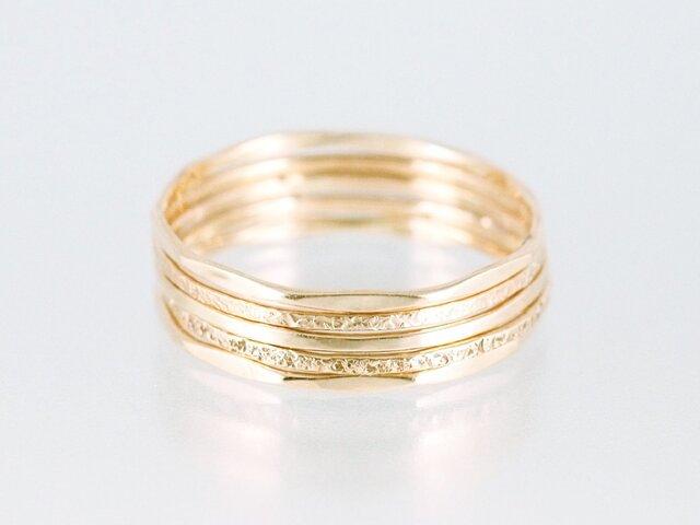 Layered Rings / Fiveの画像1枚目