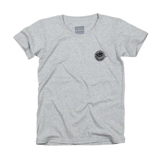 壊れた時計デザインTシャツの画像1枚目