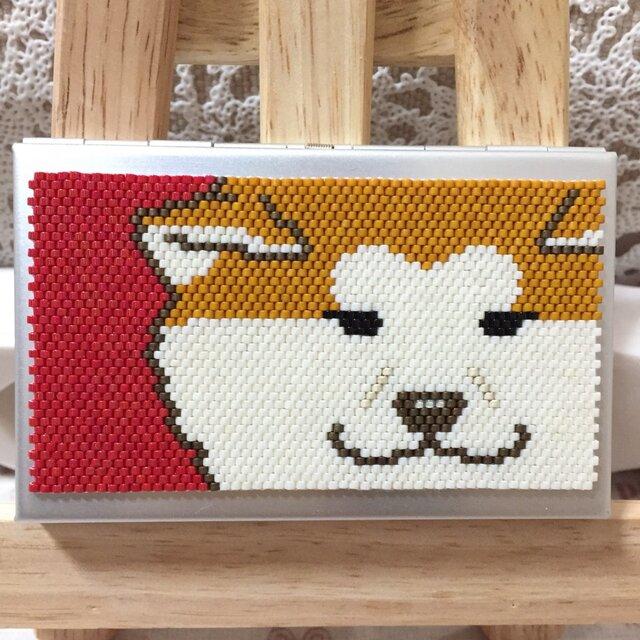 カードケース(秋田犬⑧)の画像1枚目