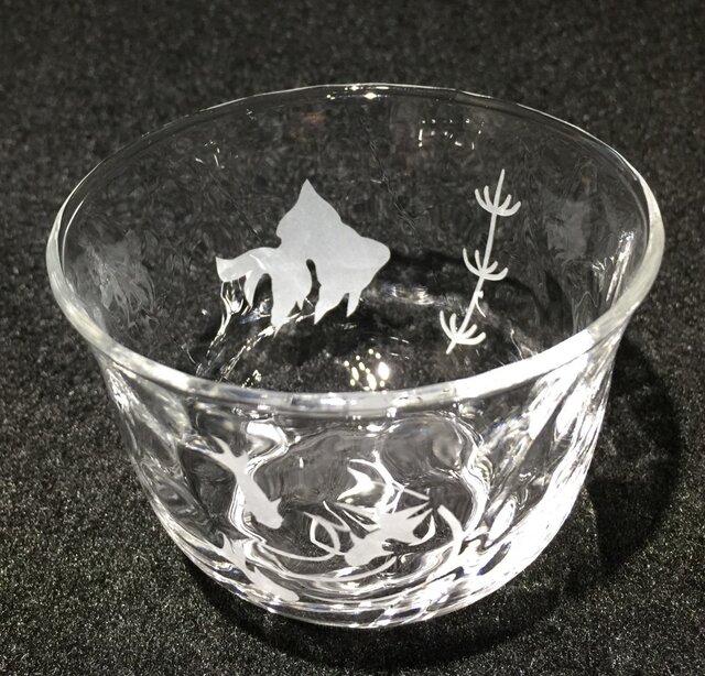 金魚の冷茶グラス2の画像1枚目