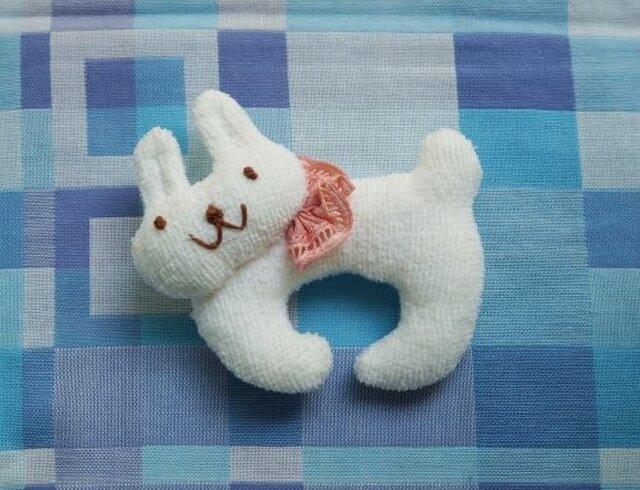 ウサギのにぎにぎの画像1枚目