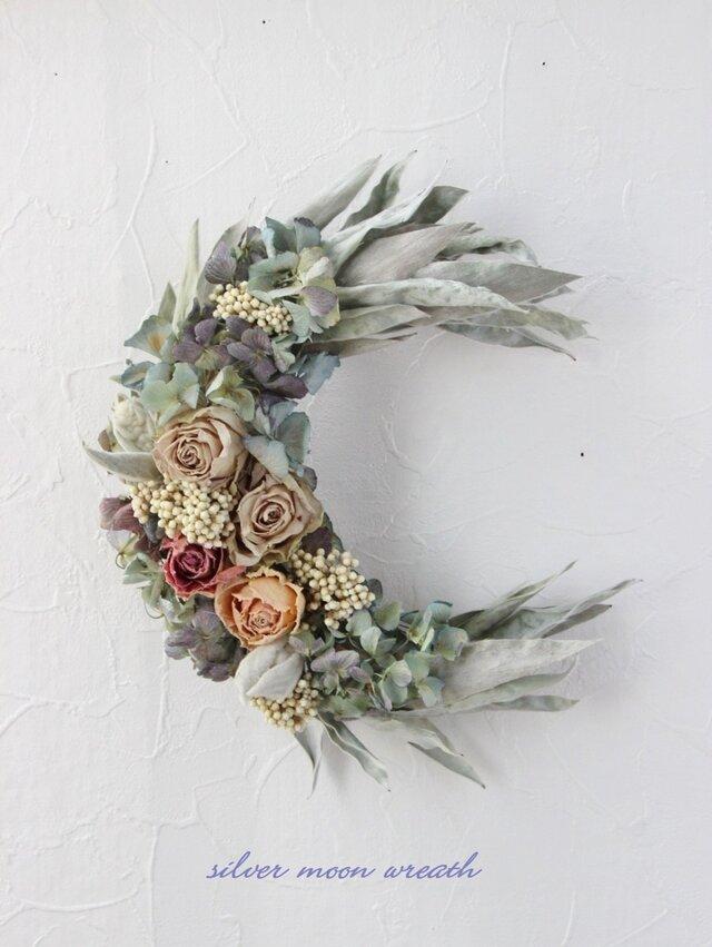 silver moon wreathの画像1枚目
