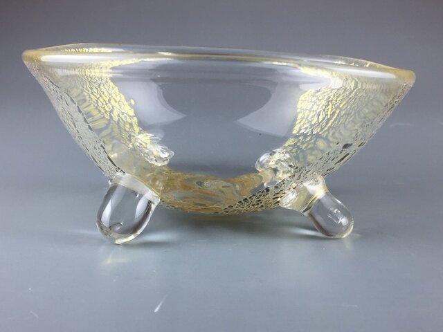 盛り付け上手になる銀彩あわび鉢の画像1枚目