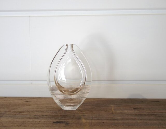一輪挿し a bottle「mesh」時澤真美の画像1枚目