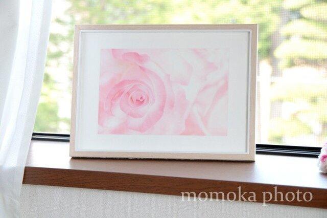 和紙でつづる花の宇宙 ROSE 恋愛・癒し・自分への感謝(額無し)の画像1枚目