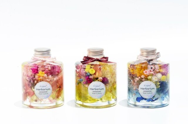 Fantasia ハーバリウム  HANADOKI.RIUM 「花」の美しい「時」R1751Aの画像1枚目
