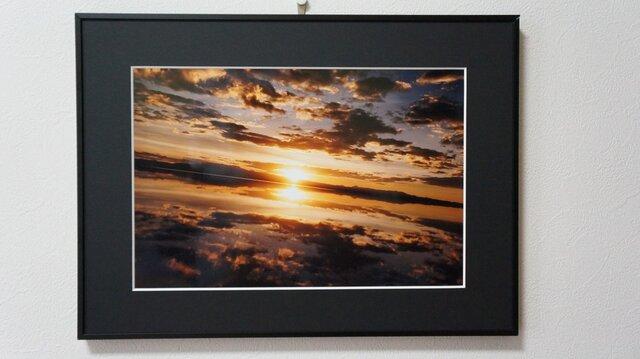 世界一周フォトコレクション〜ウユニ塩湖の夕日〜の画像1枚目