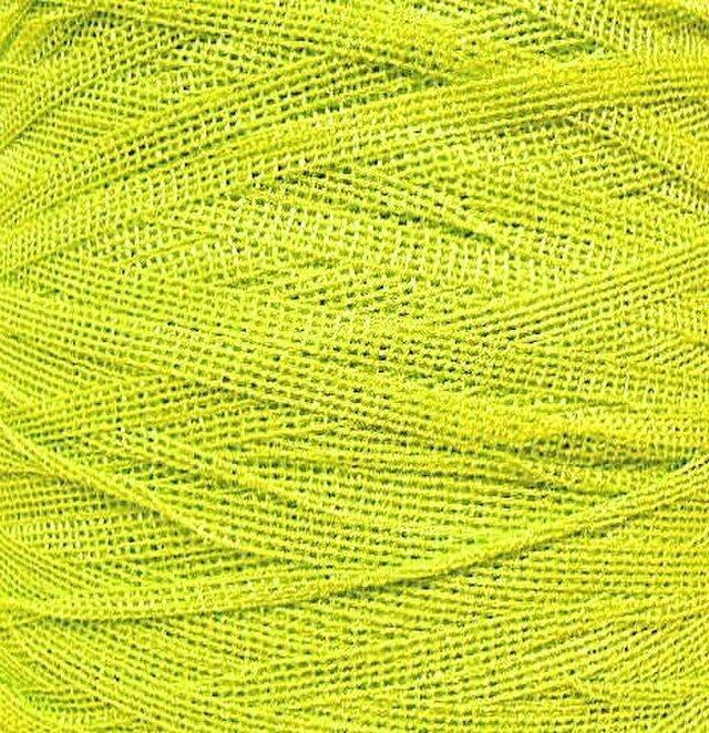 テープ糸 イエローグリーン系 242 gの画像1枚目