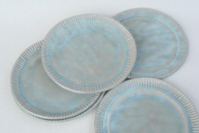 ぎざぎざふちの皿 NO.2の画像1枚目