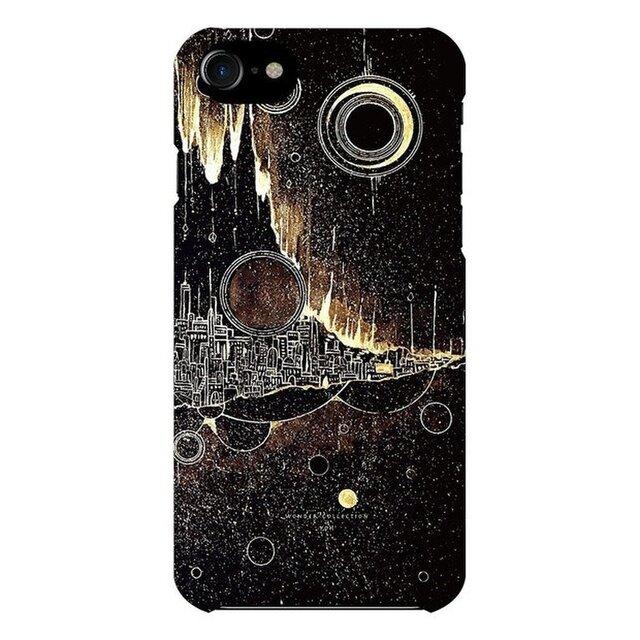 iPhoneハードケース  黄金星の街の画像1枚目