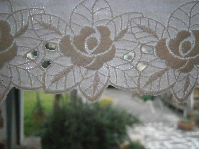 スカラップレースのカーテン*@バランス*の画像1枚目