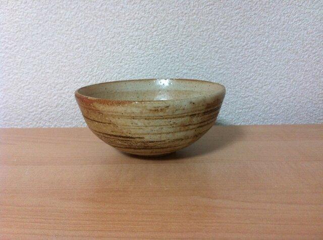 ベンガラストライプにチタンマットの小鉢③の画像1枚目