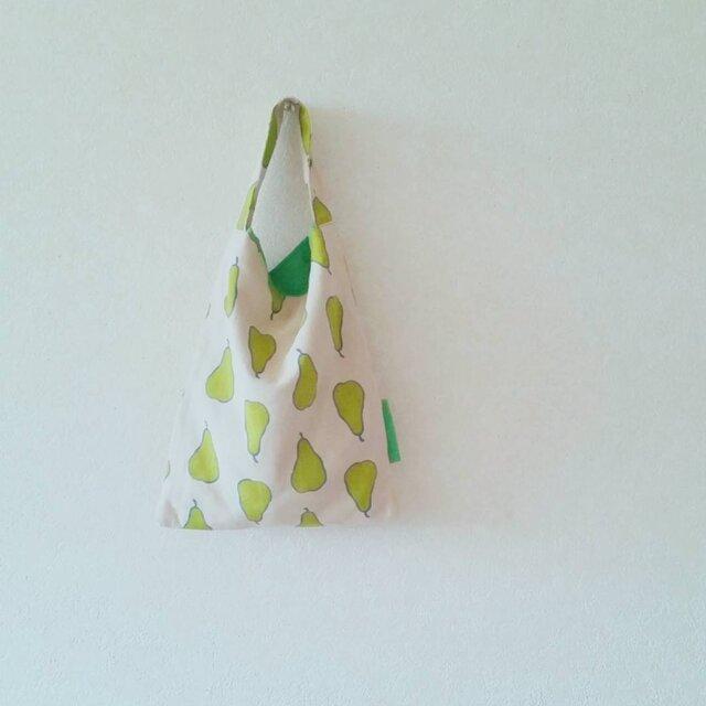 小さなおつかいbag  洋梨柄の画像1枚目