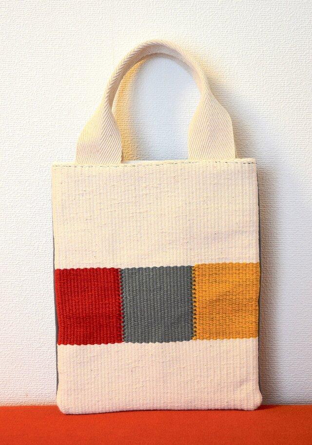 手織りミニバッグの画像1枚目
