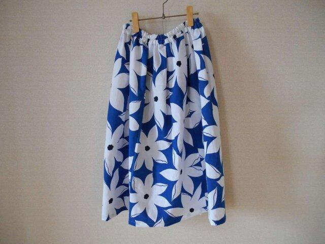 新品浴衣地のスカートの画像1枚目
