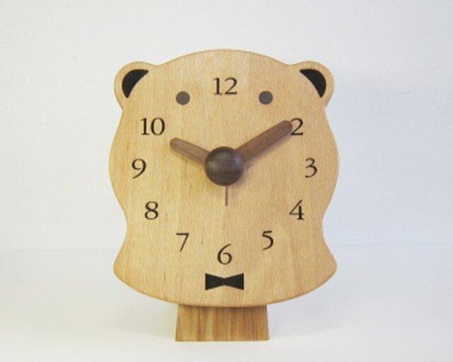 polar bear 置・掛時計の画像1枚目