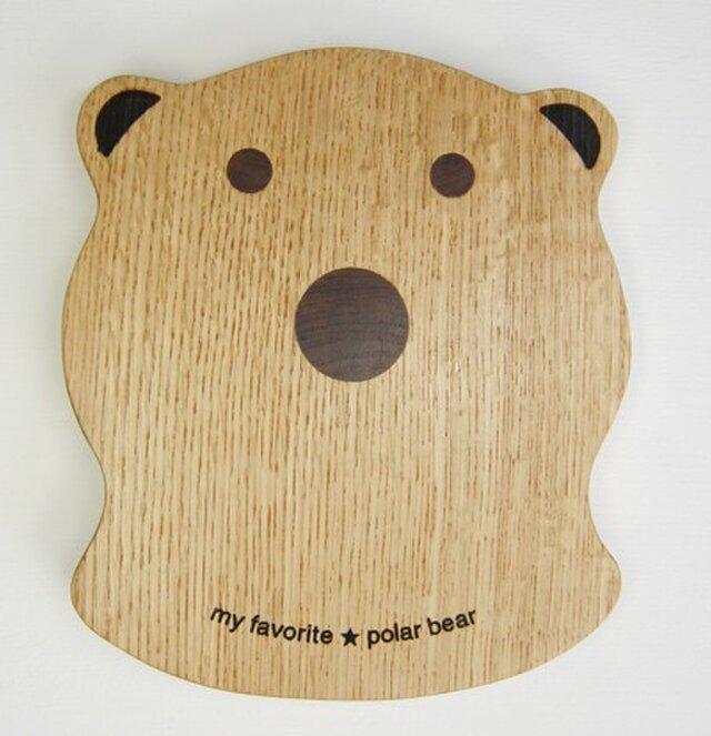 polar bear 鍋敷の画像1枚目