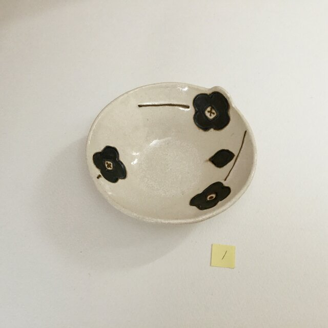 花小鉢 (白)の画像1枚目
