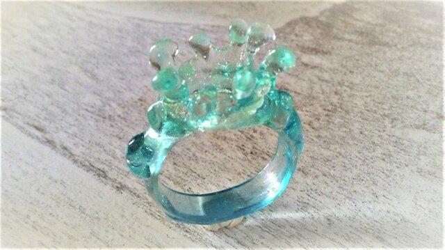 水滴の指輪☆南国ラグーンの画像1枚目