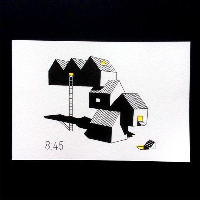 「秘密基地 8:45」ポストカードセットの画像1枚目