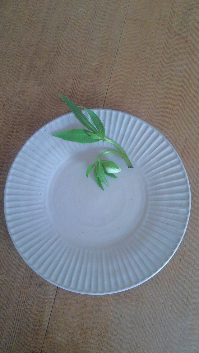 しのぎのお皿 グレーの画像1枚目