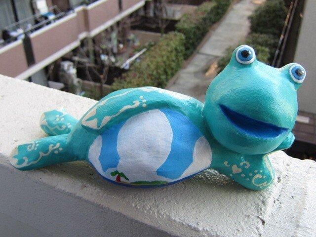 なまけ蛙くんフェデリコの画像1枚目