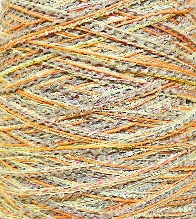 ブークレ・ウール糸 ミックスカラー 140 gの画像1枚目