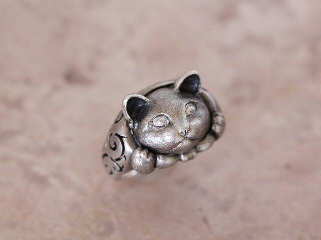 どろぼう猫(大)のリングの画像1枚目
