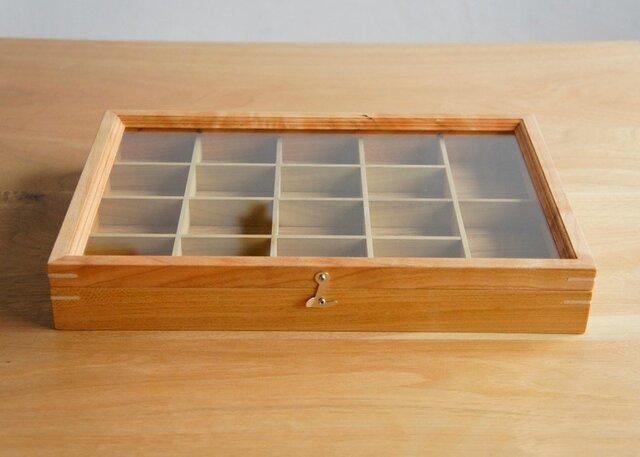 木製アクセサリーケース チェリー(小物入れ・ジュエリーボックス)の画像1枚目