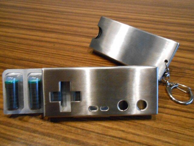 送料無料】ステンレス Ploom TECH プルームテック たばこカプセルケース(コントローラー)の画像1枚目