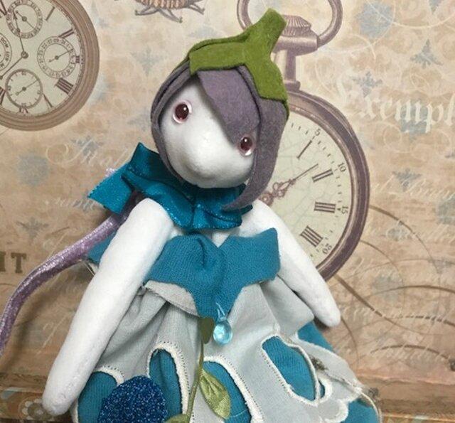 花の妖精さん(ブルー)の画像1枚目