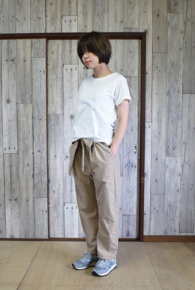 unisex relaxed pants bansyuori ユニセックスリラックスパンツの画像1枚目