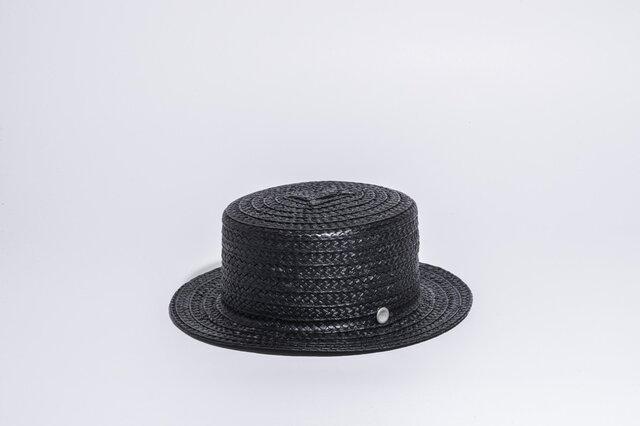 GINZA掲載メーカー!生産を中止したプレミアムスットックのエクアドル産モコラブレードカンカン帽 17SSS-020の画像1枚目