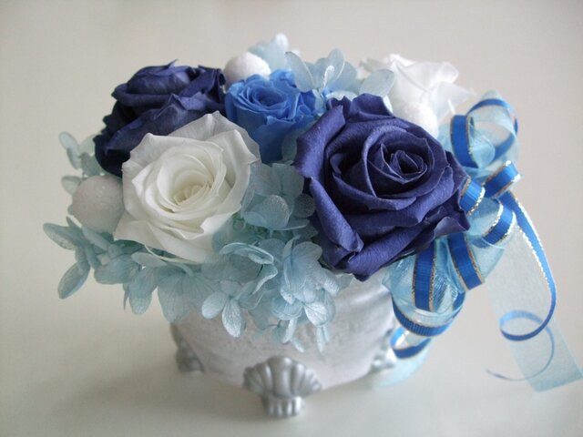 夢☆叶う♪ブルーのバラの画像1枚目