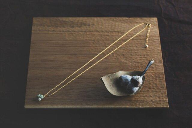 oya stone ネックレス001の画像1枚目