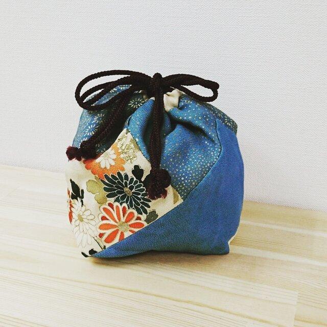 古布 しあわせ(四合わせ)袋の画像1枚目