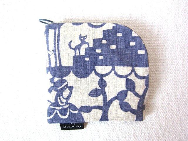 型染め 財布「淑女生活」の画像1枚目