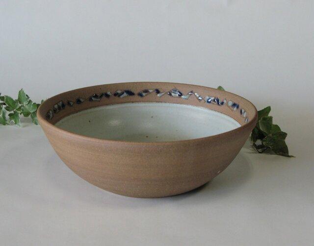 象嵌の丸鉢 (送料無料)の画像1枚目