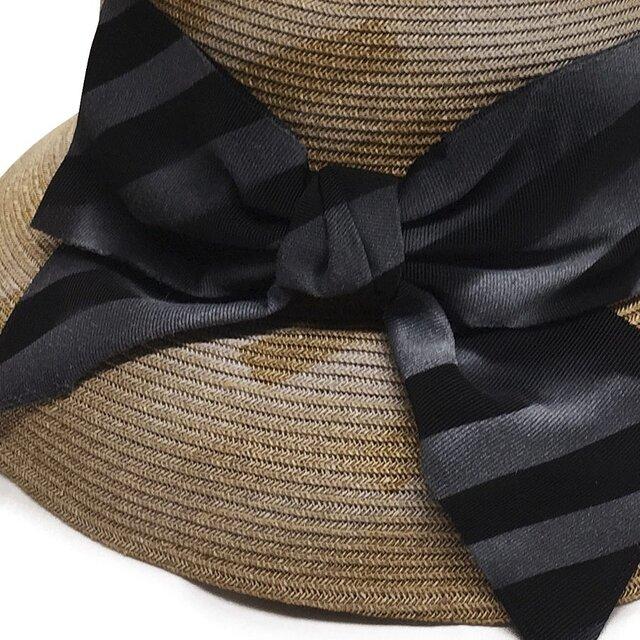 GINZA掲載メーカ!軽くて、クルクル丸めるスプレープリント ペーパーブレードの帽子17SSS-501の画像1枚目