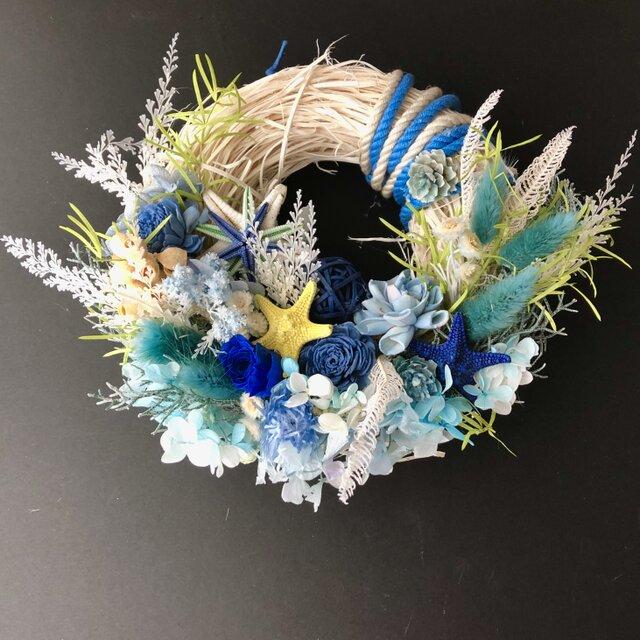 Starfish wreath Ⅳの画像1枚目